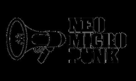 Logotipo, stencil y fotodiseño para el disco NeoMicroPunk