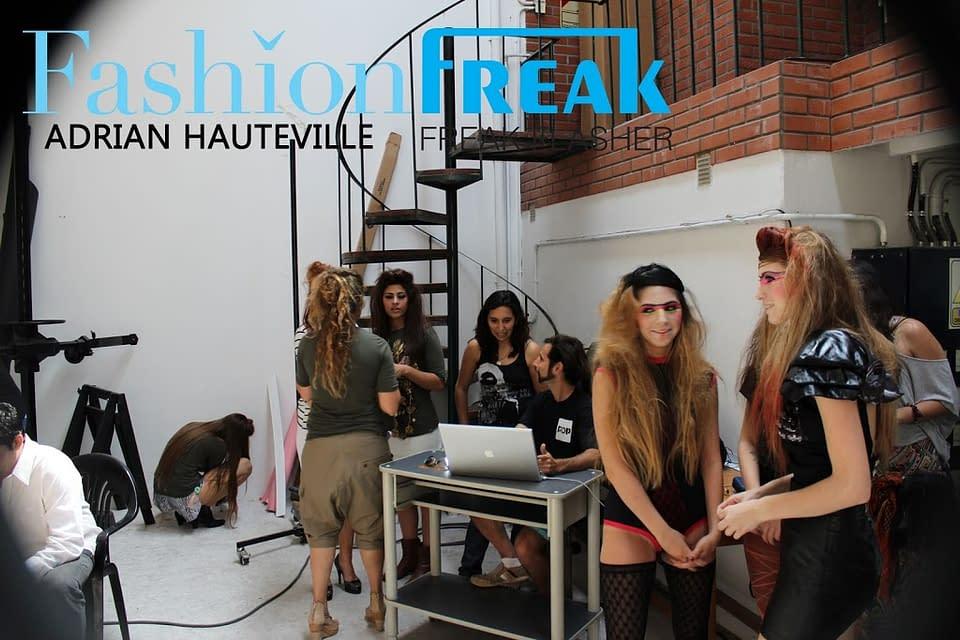 Making of   FREAK FLASH STUDIO   8/12/2011   Por Adrian Hauteville