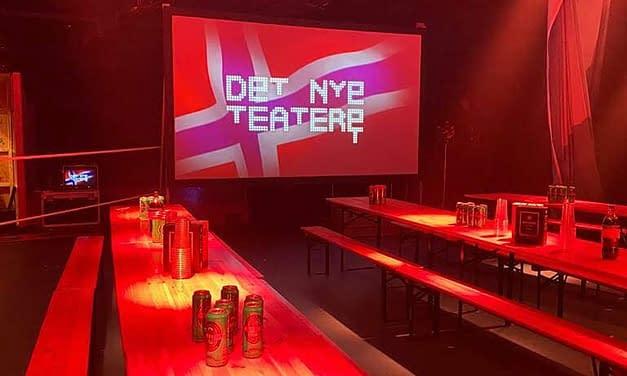 """Diseño de Logotipo y Tipografía para el teatro """"DET NYE TEATERET"""""""
