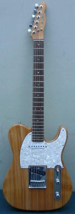 Modelo Telecaster de Raffaelli Guitarras